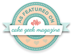 Cake Geek Badge large