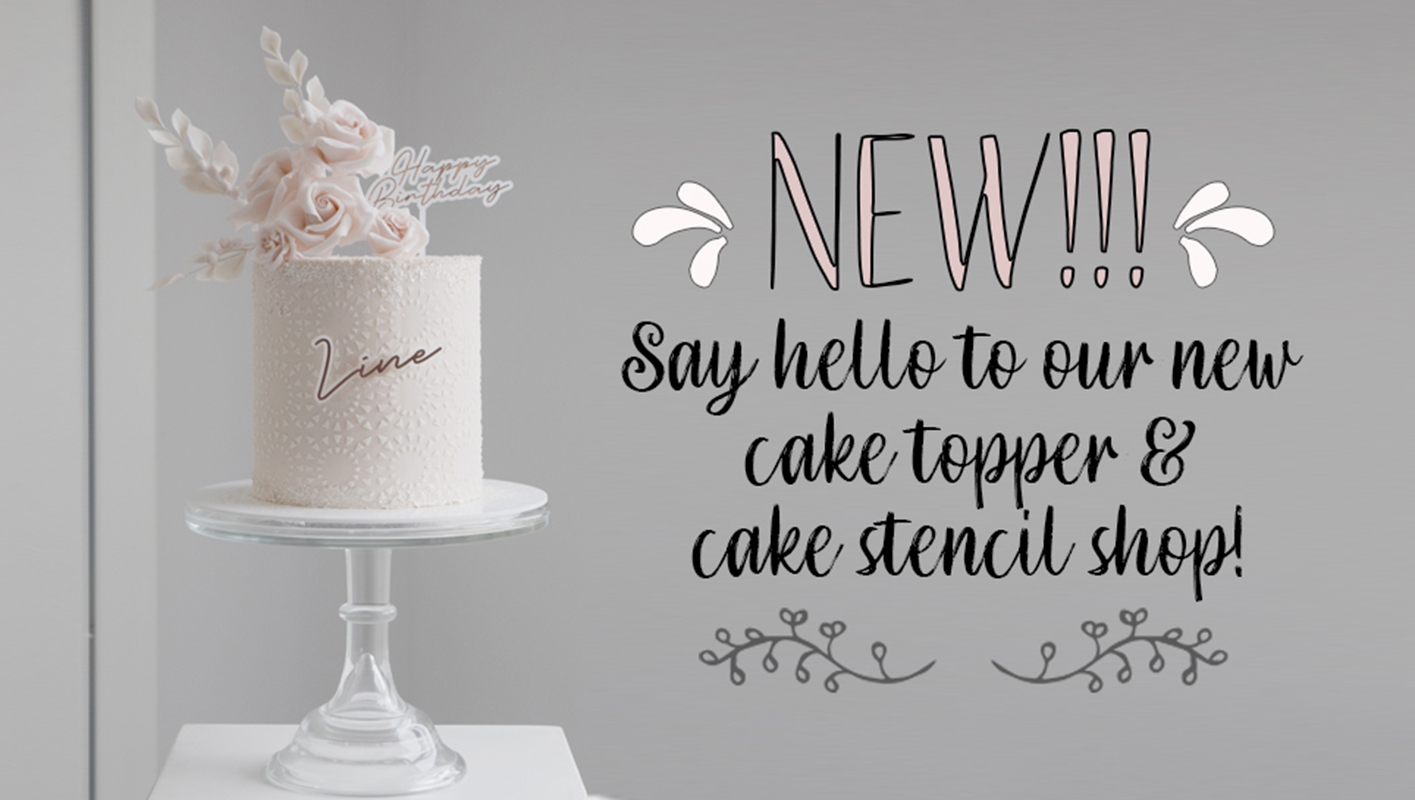 Google SERP 'Cake Toppers' and 'Cake stencils'